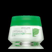 Ночной крем для жирной кожи «Активный кислород» код 25199
