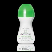 Шариковый дезодорант-антиперспирант 24-часового действия с экстрактом зеленого чая «Активэль» код 30332