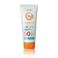 Детский солнцезащитный лосьон Sun Zone с высокой степенью защиты SPF 50 код 30568