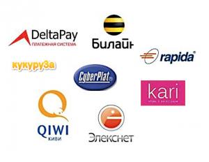 Платежные терминалы и электронные кошельки