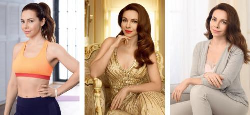 Три образа Екатерины Гусевой - красота как образ жизни