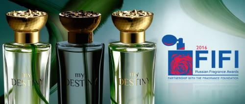 парфюм My Distiny код 32535 - FIFI Russian Fragrance Awards 2016